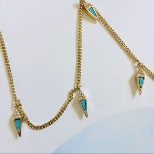 Vera Bradley NWT triangle statement necklace